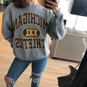 Michigan Athletics Vintage Sweatshirt UMich
